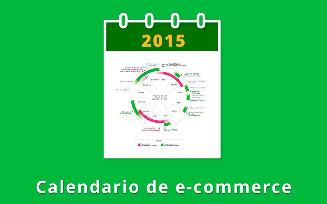 Calendario 2015 para eventos comerciales