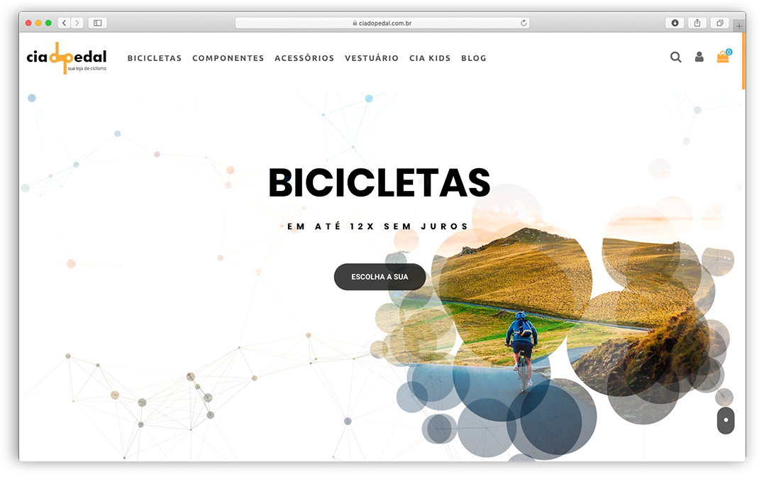 Web Cia do Pedal